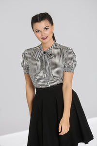 Hell Bunny Humbug Blouse - Kate's Clothing