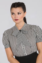 Load image into Gallery viewer, Hell Bunny Humbug Blouse - Kate's Clothing