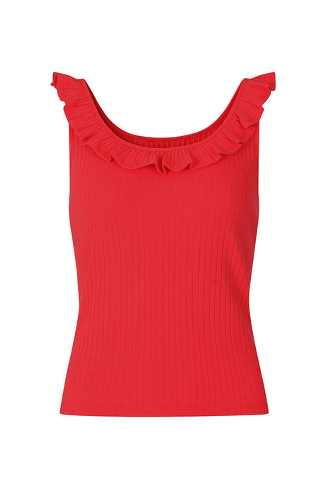 Hell Bunny Yolanda Top - Red - Kate's Clothing