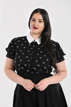Load image into Gallery viewer, Hell Bunny Plus Size Ribcage Blouse