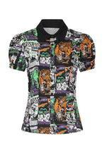 Load image into Gallery viewer, Hell Bunny Be Afraid Blouse - Kate's Clothing