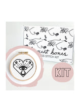 Load image into Gallery viewer, Innocent Bones All Seeing Eye Cross Stitch Kit - Kate's Clothing
