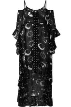 Load image into Gallery viewer, Killstar Plus Size Astral Light Maxi Dress - Kate's Clothing