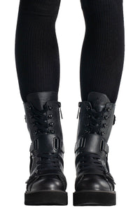 Killstar Eris Combat Boots - Kate's Clothing