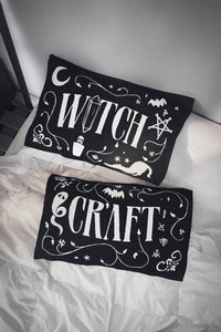 Killstar Witchcraft Pillowcases - Kate's Clothing
