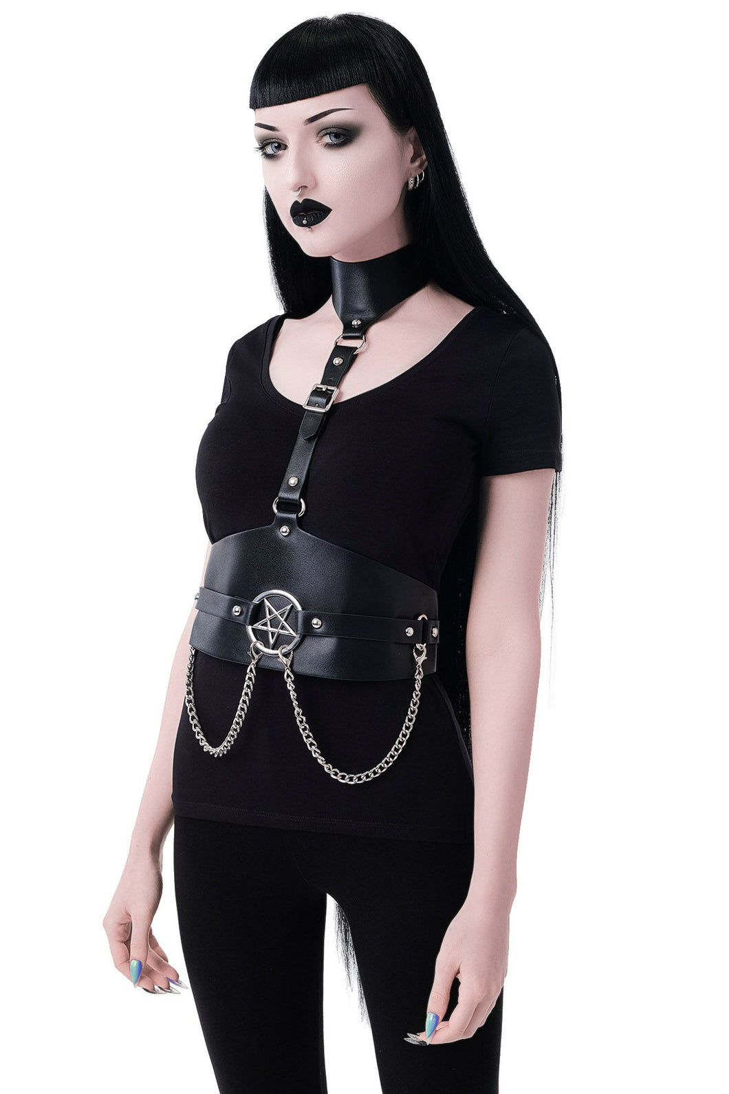 Killstar Salvation Harness - Kate's Clothing