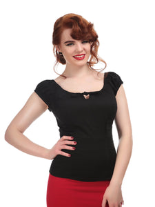 Collectif Plus Size Lorena Top - Kate's Clothing