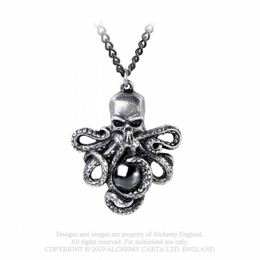 Alchemy Gothic Mammon Of The Deep Pendant - Kate's Clothing