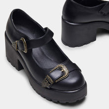 Load image into Gallery viewer, Koi Seta Buckle Mary Janes - Kate's Clothing