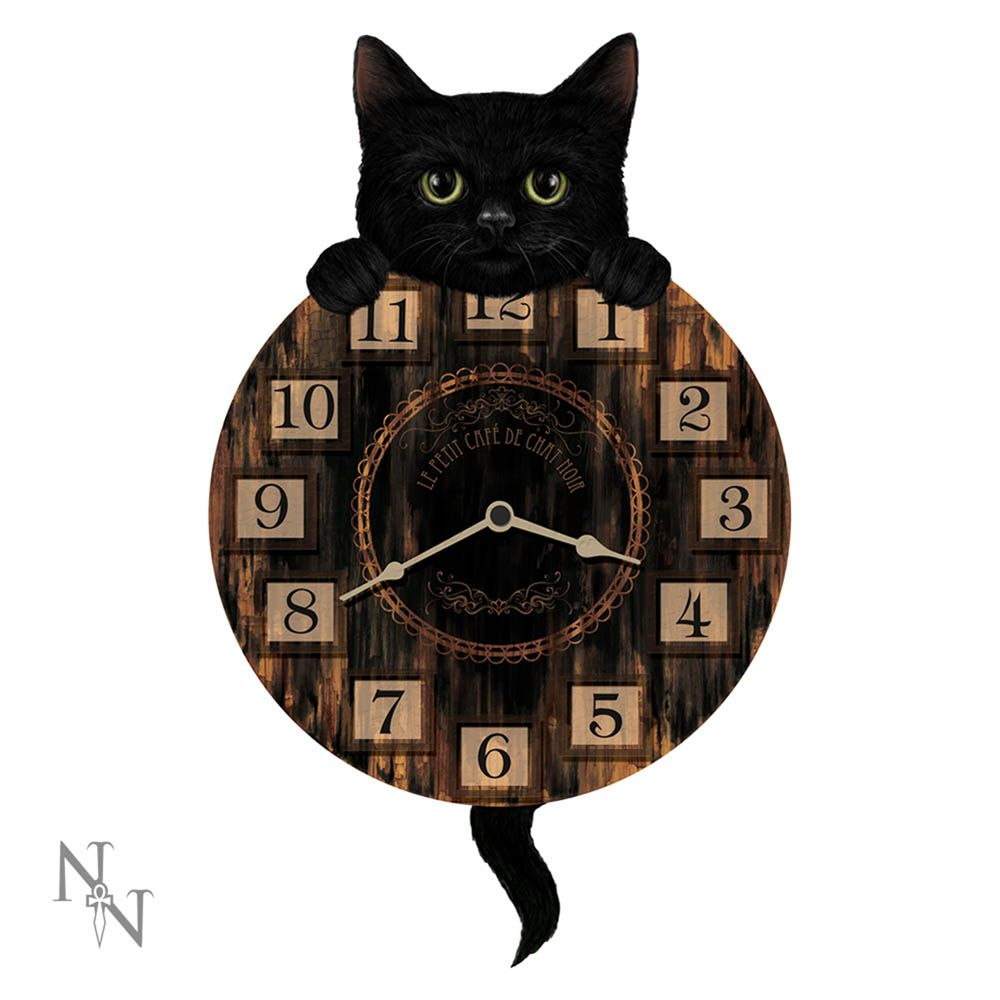 Nemesis Now Kitten Tickin' Wall Clock - Kate's Clothing