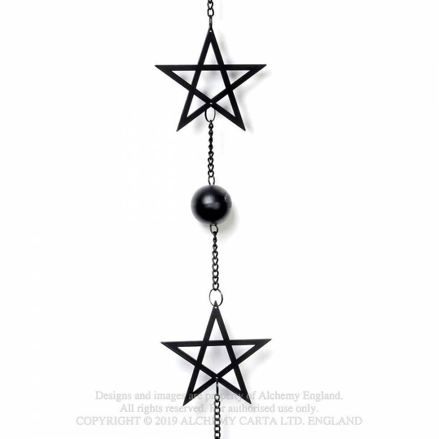 Alchemy Gothic Pentagram Hanging Decoration - Kate's Clothing