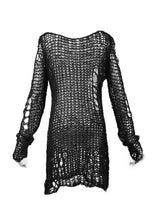 Load image into Gallery viewer, Punk Rave Ruin Sweater - Kate's Clothing