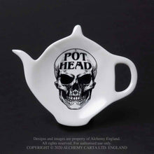 Load image into Gallery viewer, Alchemy Gothic Pot Head Spoon Rest - Kate's Clothing
