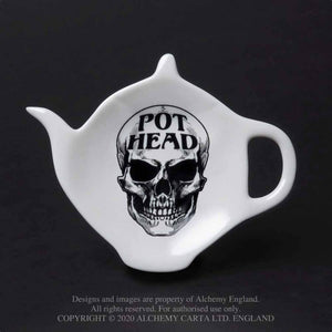 Alchemy Gothic Pot Head Spoon Rest - Kate's Clothing