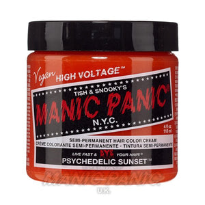 Manic Panic Classic Cream Hair Colour - Psychedelic Sunset - Kate's Clothing