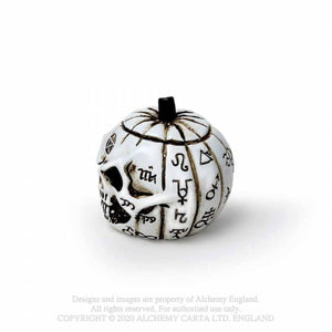 Alchemy Gothic Pumpkin Skull: Miniature Ornaments - Kate's Clothing