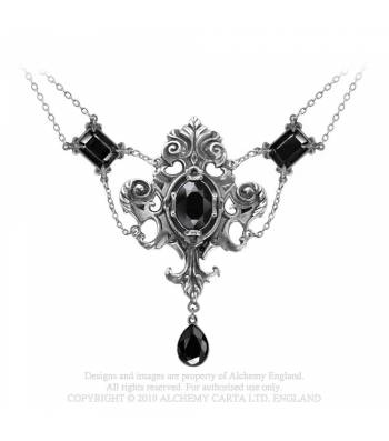 Alchemy Gothic Queen of the Night Necklace - Kate's Clothing