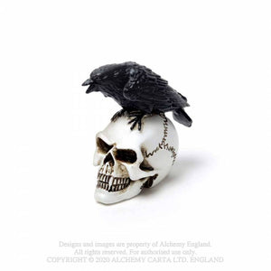 Alchemy Gothic Raven Skull: Miniature Ornaments