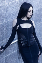Load image into Gallery viewer, Killstar Wired Mesh Bolero - Kate's Clothing