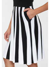 Load image into Gallery viewer, Collectif Serena Knitted Striped Dress - Kate's Clothing