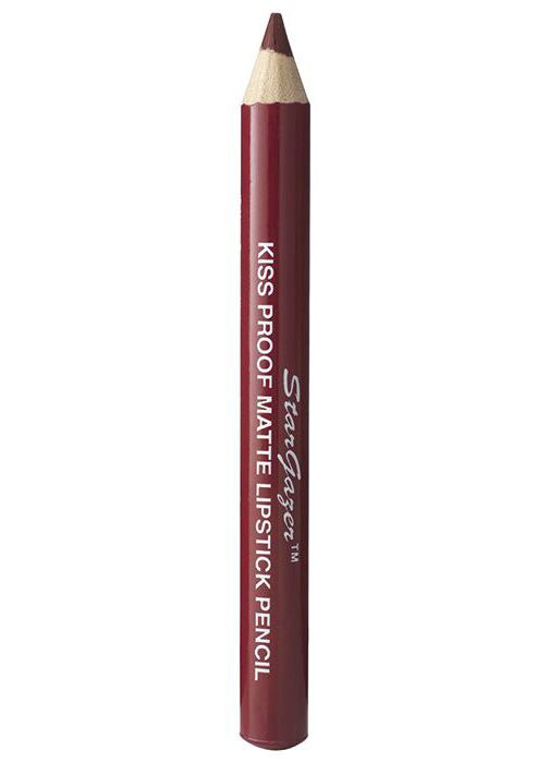 Stargazer Matte Dried Blood Red Lipstick Pencil - Kate's Clothing