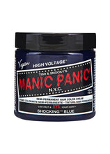Load image into Gallery viewer, Manic Panic Classic Cream Hair Colour - Shocking Blue - Kate's Clothing