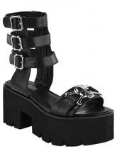 Load image into Gallery viewer, Killstar Sinstress Sandals - Kate's Clothing