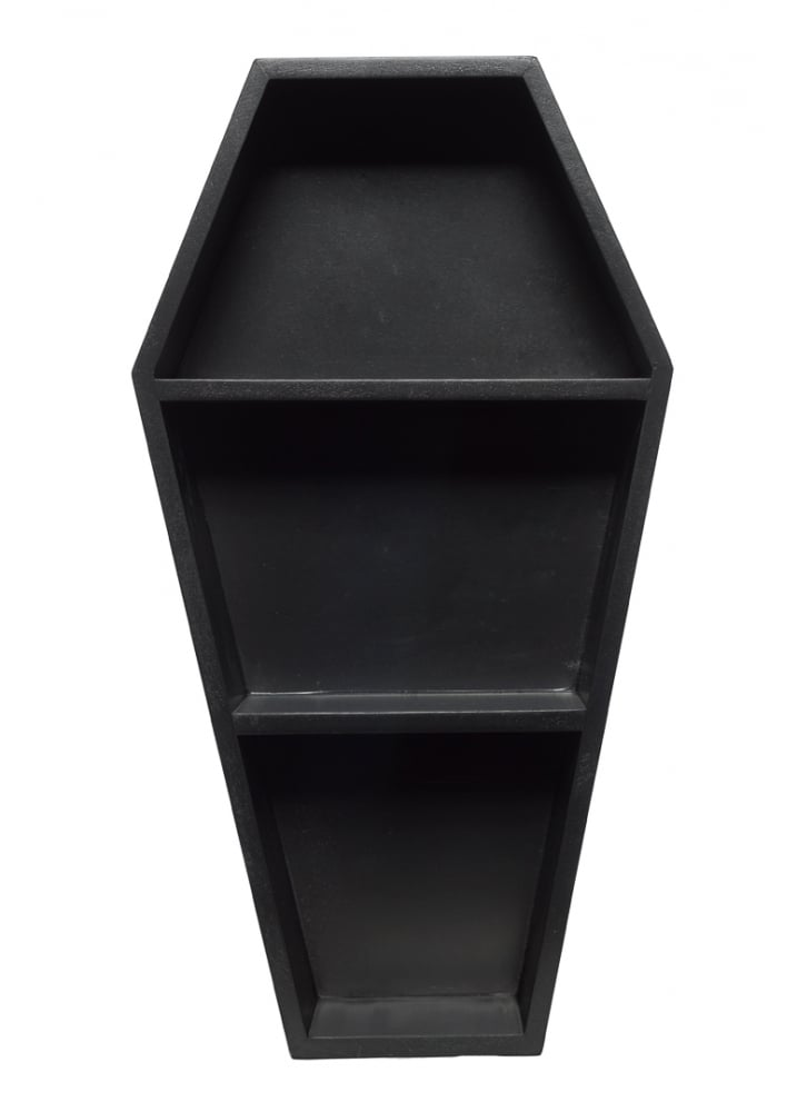 Sourpuss Coffin Wall Shelf - Kate's Clothing