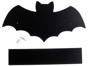 Sourpuss Black Bat Shelf - Kate's Clothing
