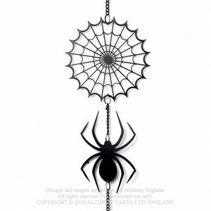 Alchemy Gothic Spider Hanging Decoration - Kate's Clothing