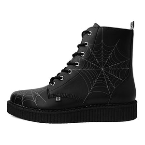 T.U.K Spiderweb Pointed Creeper Boots - Kate's Clothing