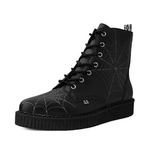 T.U.K Spiderweb Pointed Creeper Boots