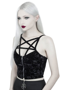 Killstar Lost In Sin Zip Top - Kate's Clothing