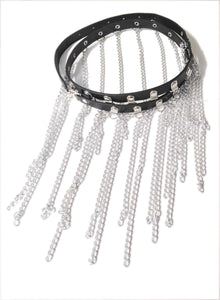Gothic Attitude Chain Tassels Belt - Kate's Clothing