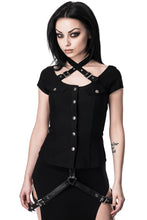 Load image into Gallery viewer, Killstar Army of Darkness Top - Kate's Clothing