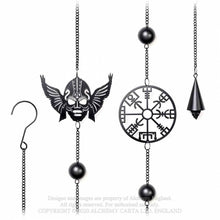 Load image into Gallery viewer, Alchemy Gothic Viking Hanging Decoration