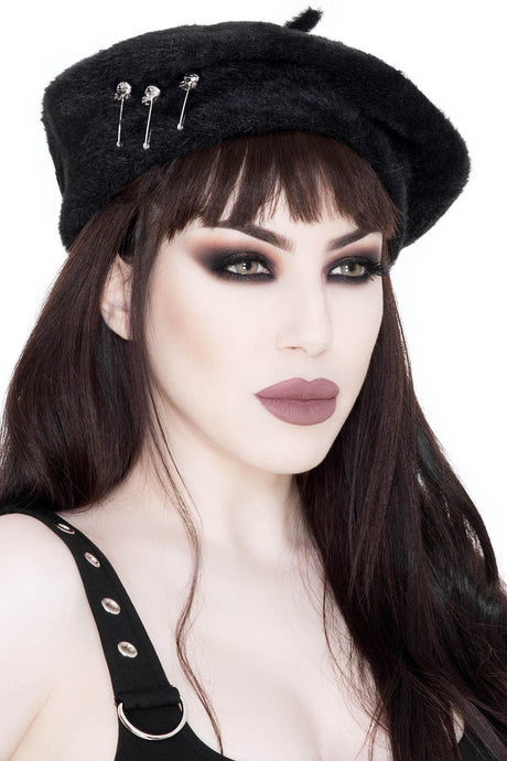 Killstar Eternal Slumber Beret - Kate's Clothing
