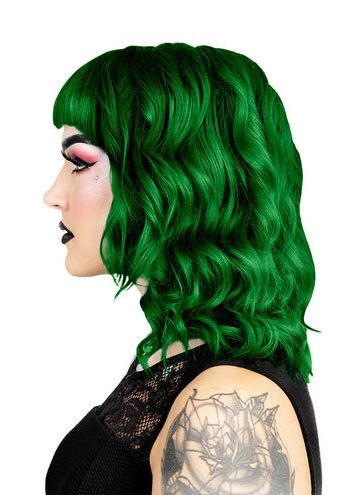 Herman's Amazing Direct Hair Colour - Maggie Dark Green - Kate's Clothing