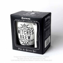 Load image into Gallery viewer, Alchemy Gothic Witches Brew: Mug and Spoon Set