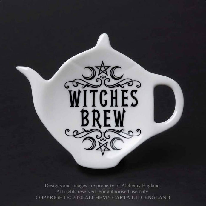 Alchemy Gothic Witches Brew Spoon Rest - Kate's Clothing