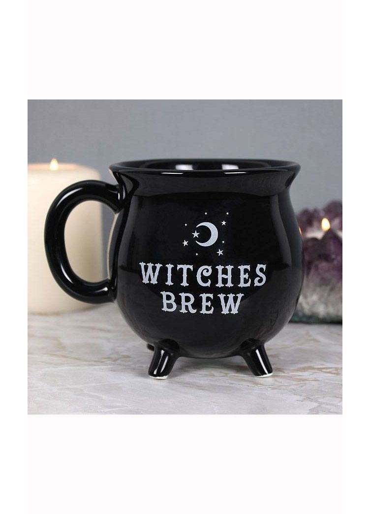 Gothic Gifts Witches Brew Cauldron Mug - Kate's Clothing