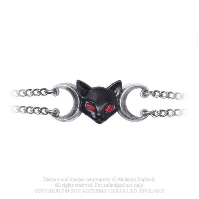 Alchemy Gothic Worshipping Bastet Bracelet - Kate's Clothing