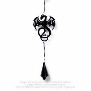 Alchemy Gothic Wyvrex Dragon Hanging Decoration - Kate's Clothing