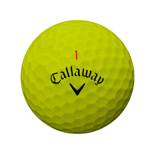 Callaway Chrome Soft 2018 Golf Ball Yellow