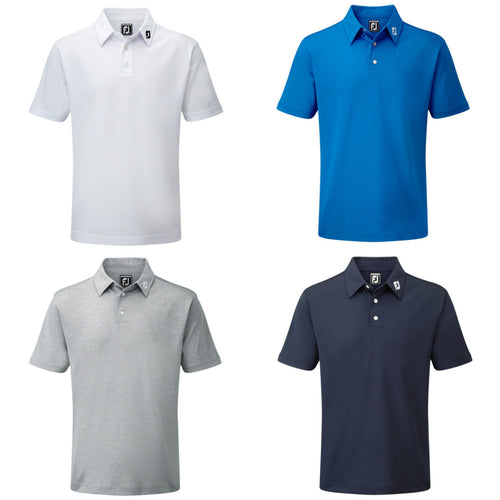 Footjoy Stretch Pique Solid Polo