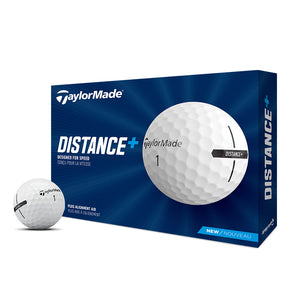TaylorMade Distance+ - 12 Palline