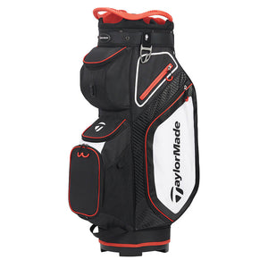 TaylorMade Pro Cart 8.0 Sacca Nero/Rosso/Bianco