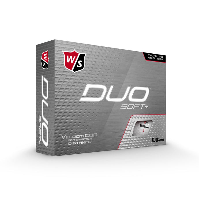 Wilson Staff Duo Soft+ 12 Palline