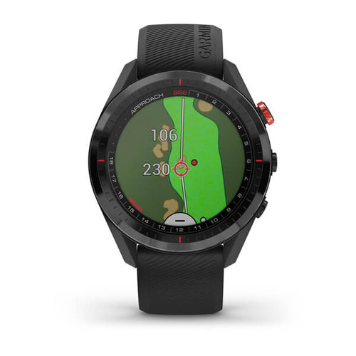 Garmin Approach S62 vista frontale fairway