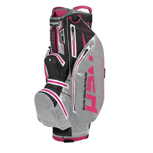 Sun Mountain H2NO Lite Sacca CartNero Grigio Ciaro Rosa